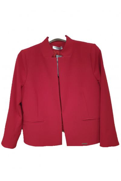 CHRISPER Γυναικείο Σακάκι κόκκινο J0022